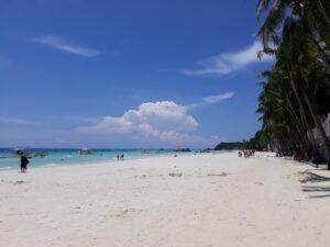 While in Boracay Island